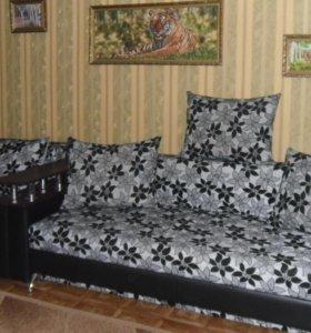 диван и 3 кресла