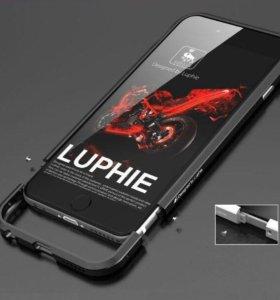 "Металлический бампер ""Luphie"" для iPhone 6/6S"
