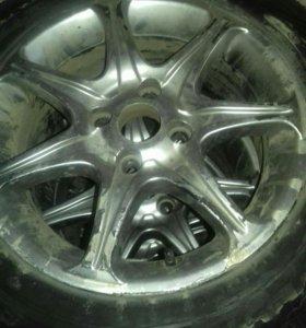Зимние колеса на литье