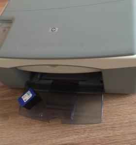 Принтер HP PSC 1410 струйный 3в1