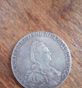 1 рубль 1787