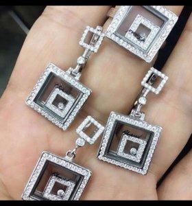 Комплект серебро 925 пробы !новый !