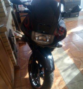 Мотоцикл honda cbr600f