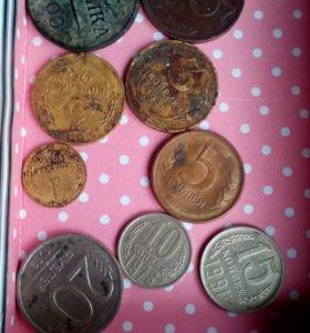 Коллекция старинных монет