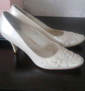 Свадебные туфли, р. 38