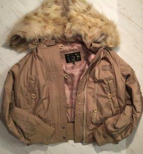 Куртка с капюшоном-трансформером