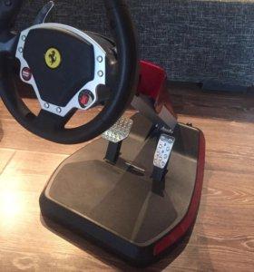 Игровой руль Феррари