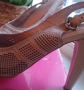 Туфли кожа на лето!!! 35 размер