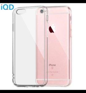 Силиконовый защитный чехол iPhone 6, 6s.