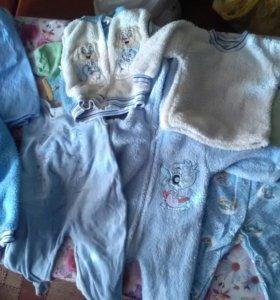 Детские вещи пакетом до1 года