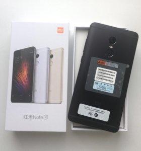 Xiaomi Redmi note 4 32 gb Новые