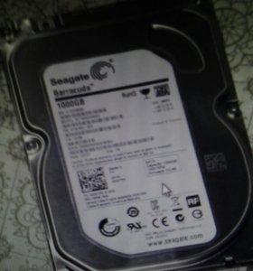 Жесткий диск seagate 1 тб