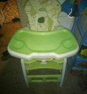 Детский стул стол для кормления