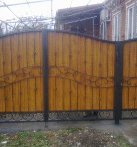Ворота, навесы....