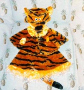 Костюм новогодний. Костюм тигра