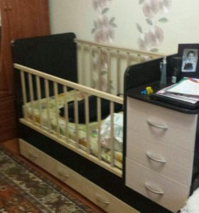 Дет. кроватка-трансформер