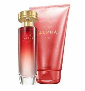 Набор Avon Alpha для нее
