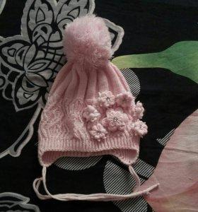 Детская шапочка на весну