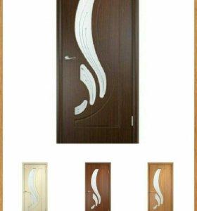 Межкомеатная дверь МДФ, доставка, установка