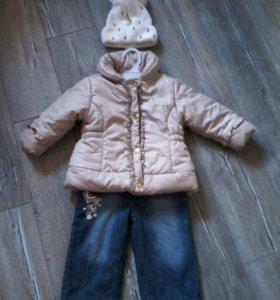 Демисезонная курточка 80