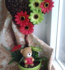 Подарки ручной работы из искусственных цветов!
