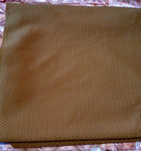 Ткань гобелен цвет горчичный