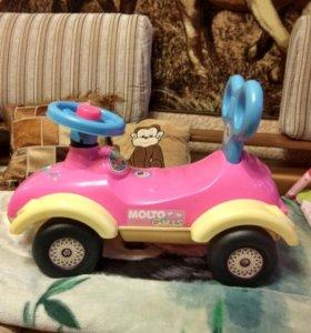 Детская машина каталка для девочки