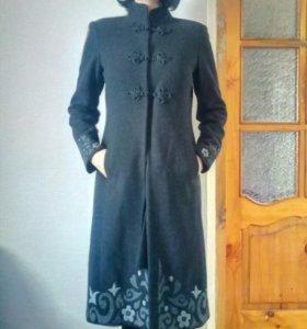 Пальто демисезонное фирменное naf-naf