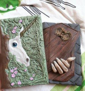 Блокноты дневники