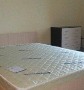 Кровать 140х200 с матрасом