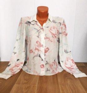 фирменная шифоновая блуза