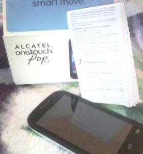 Продам телефон на запчасти,Alcatel onetouch pop c2