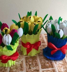 Тюльпаны которые никогда не завянут