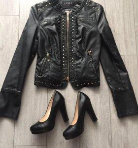 Куртка + туфли