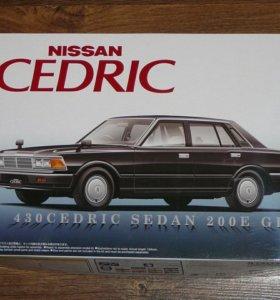 Продам масштабную сборную модель Nissan Cedric