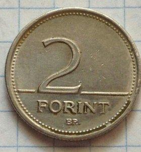 2 форинта 1994 года.Венгрия.