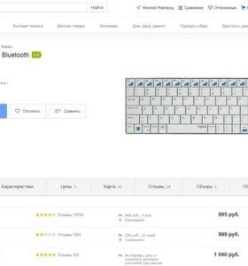 Клавиатура Rapoo 6300