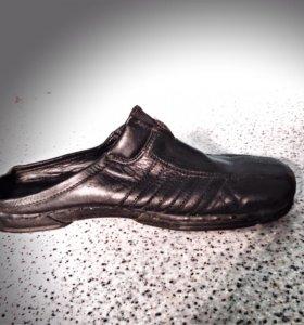 Кожаные туфли . 40