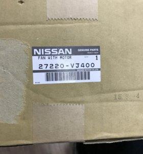 Мотор отопитель Nissan