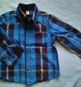 Рубашка 1-2 года.