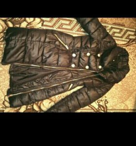 Пальто пуховик демисезонное