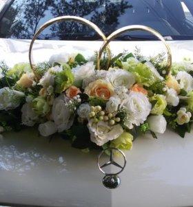 Украшения для свадебных автомобмлей Прокат
