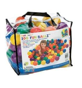 Мячики для игровых центров