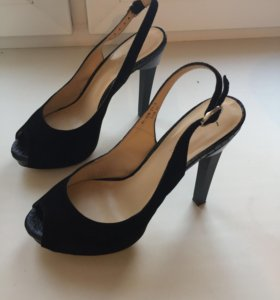 Туфли замша р.37