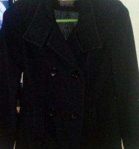 Драповое пальто р_м 42-44