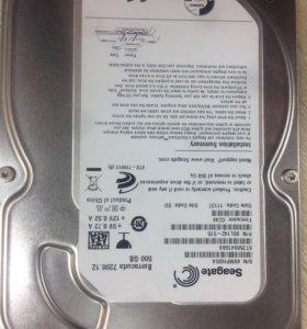 Жёсткий диск Seagate. Hdd 500gb