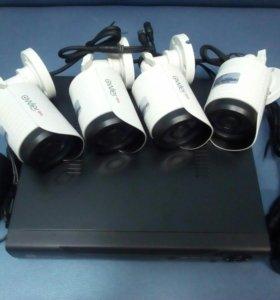 Комплект видеонаблюдения HD AHD