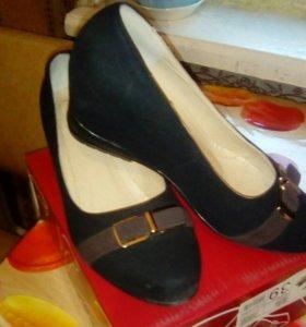 Туфли, женские, удобные.