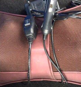 Массажер в автомобиль для спины и шеи