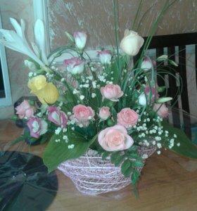 Цветы экибана